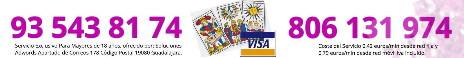 Tarot Alicia VISA y 806 131 974